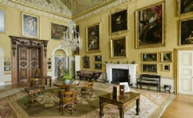 Saloon Room, Kingston Lacy House, featuring Rubens & Van Dyck