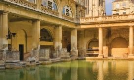Roman Baths at Aqua Silas( Bath)